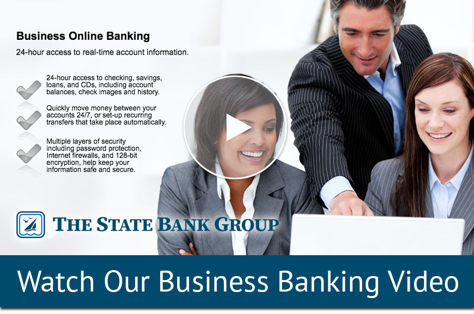 Business Online Banking Video Player