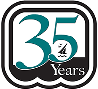 celebrating 35 Year Anniversary in 2014 Bank Logo