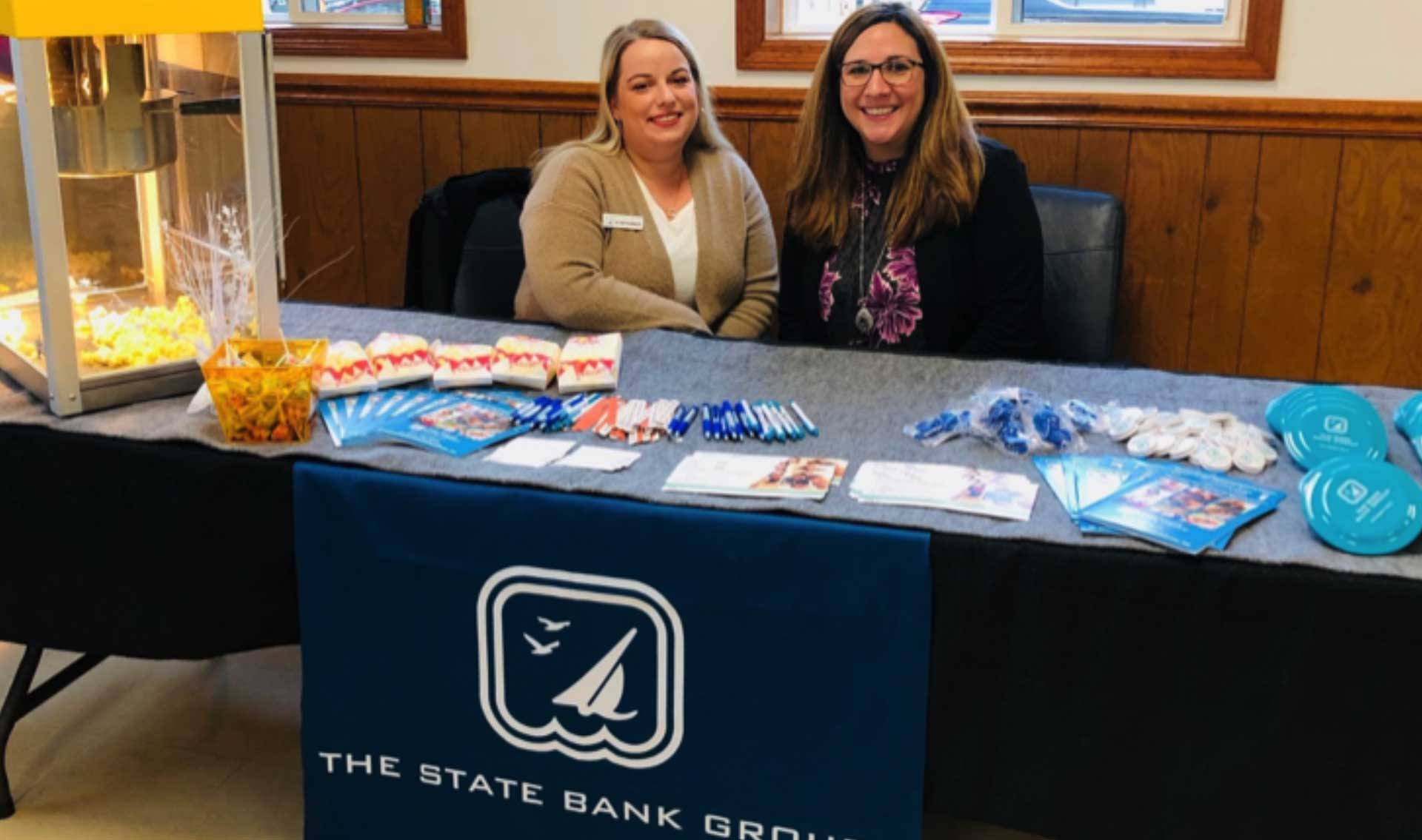 Stephanie Miller along with Branch Manager Shannon Ustanko