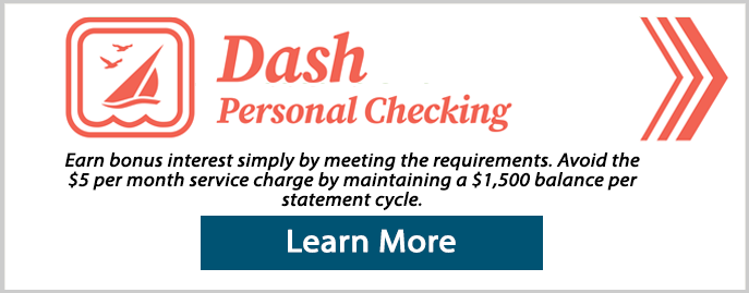 Dash personal checking