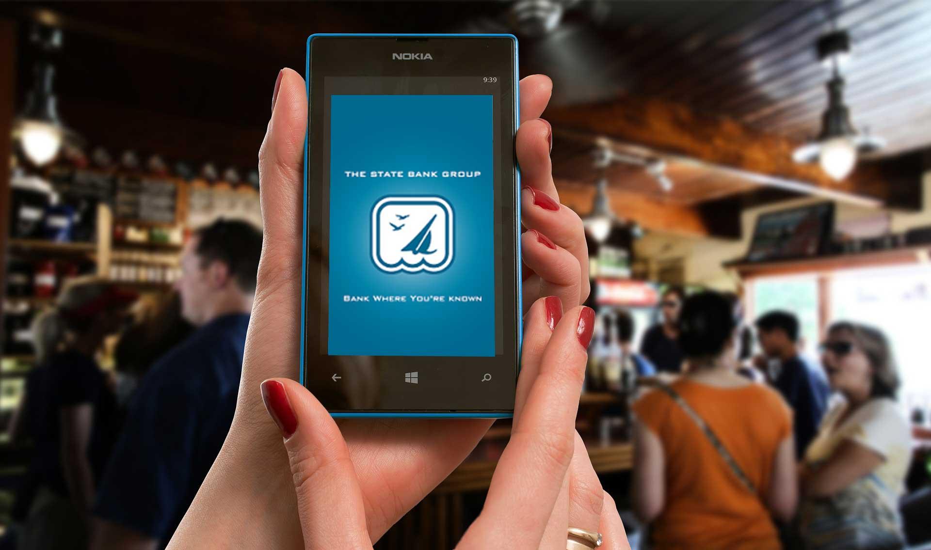 Get the TSBG Mobile Banking App