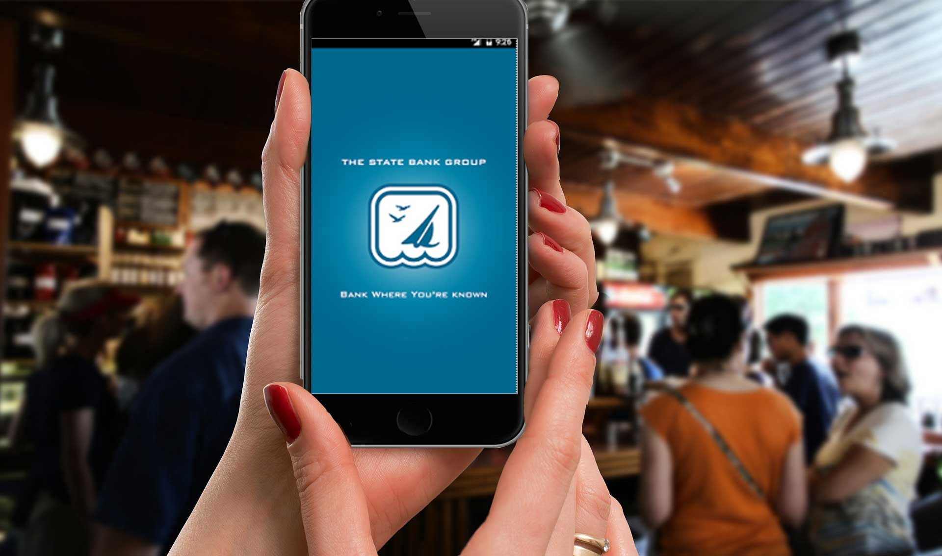 Get our banking app!