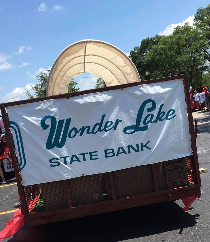 The State Bank Group 2018 Parade float