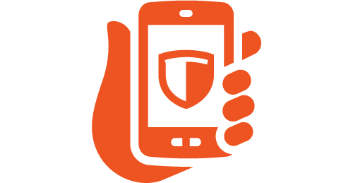 use our secure app on your smart phone