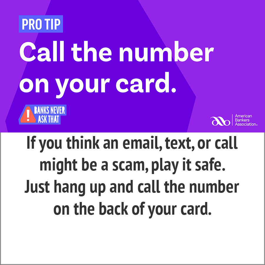 call the number on your card - pr0 tip