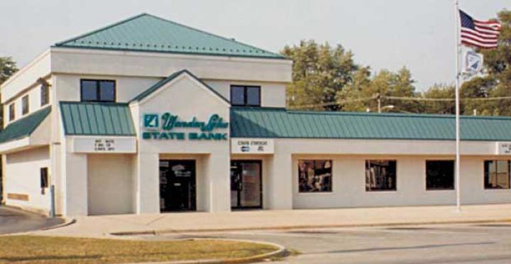 Wonder Lake State Bank (East) on Hancock Drive