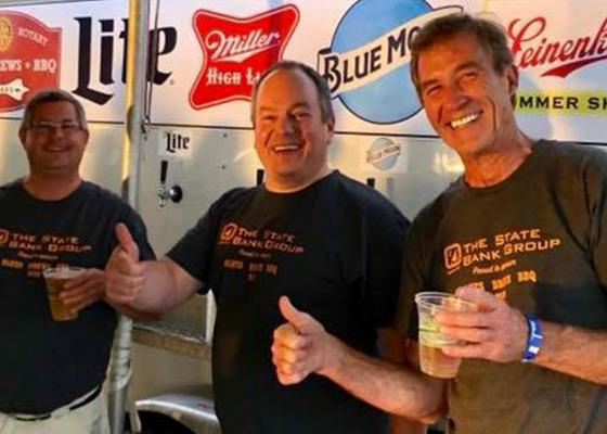 proud sponsor of the Rotary Club of McHenry's Blues, Brews, and BBQ