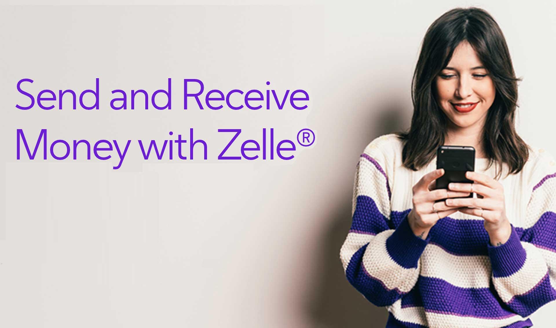 You can send money with Zelle