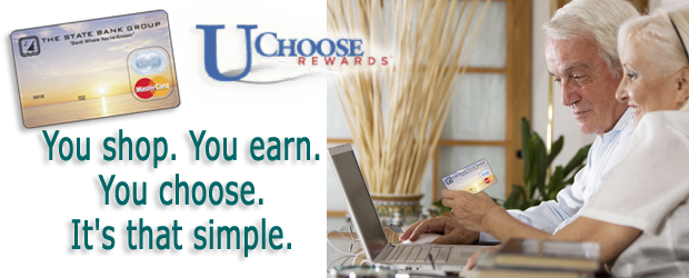 UChoose rewards- You shop, You earn, you choose, it's that simple.